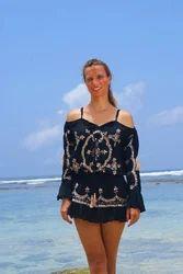 Beachwear Embroidery Dress