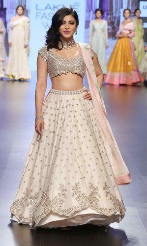 b66fc68d01 Semi-Stitched Indian Ethnic Designer Bright Banarasi Bridal Wear Lehenga  Choli