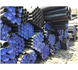Carbon Steel Round ASTM A106 Grade B Seamless Pressure Pipe, Thickness: 250 mm