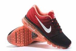 Air Max Black Orange Nike Sports Shoes