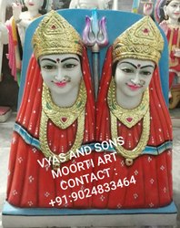 Marble Kela Devi Statue