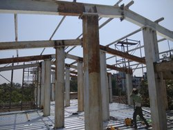 Paint Steel PEB Structures Fabrication, in India