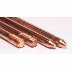 Copper Bonded Steel Earth Rods - 254 Microns