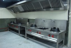Aluminium, Stainless Steel Kitchen Exhaust System