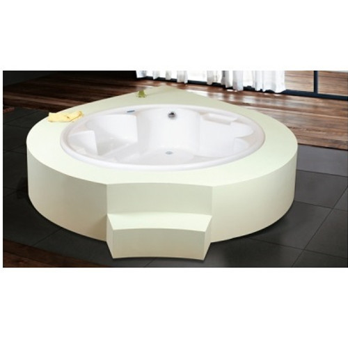 White Oyster Multisystem Jacuzzi Bathtub Rs 240000 Piece Chhabria Sons A Brand Of Chhabrias Wellness Lounge Llp Id 17053940491