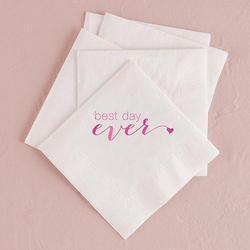 Logo Printed White Tissue Papers