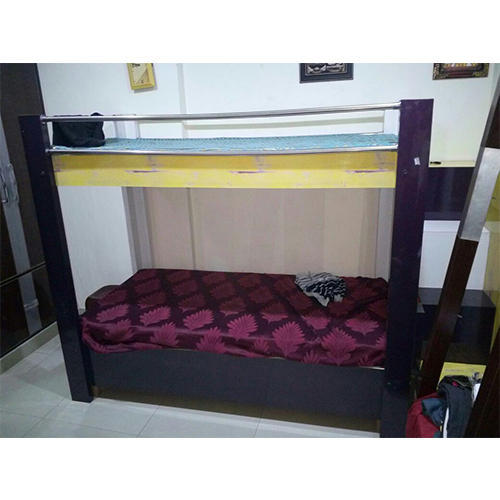 Dark Brown Double Decker Wooden Bed Rs 20000 Piece Wood Craft All