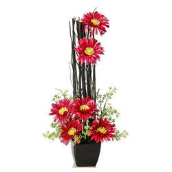 6-Gerbera Artificial Flowers