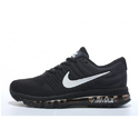 Box Nike Air Max 2017 Triple Black Shoes, Size: 41-45