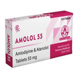 Amlodipine & Atenolol Tablets 55mg