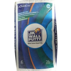 JK White Cement Based Wall Putty, Packaging Type: Bag, Packing Size: 20 Kg
