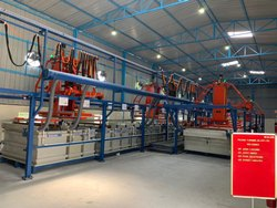 Automatic Rack Plating Plant