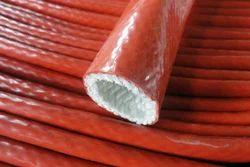 Silicone Rubber Coated Fiberglass Sleeve