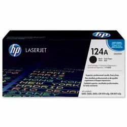 HP 124A Black LaserJet Toner Cartridge