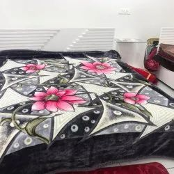 Polyester Printed Double Blanket