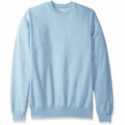 Wool Round Neck Mens Plain Sweater