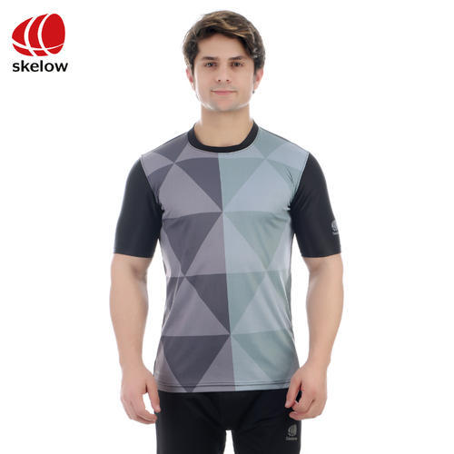 bbd66c8f4ca Printed T Shirt Men    s Grey Printed Round Neck T-Shirt