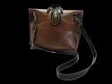 Single Handle Designer Leather Sling Bag
