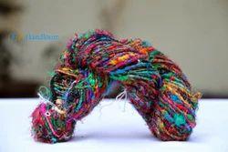 Himalayan Recycled Sari Silk Multi Color Yarn