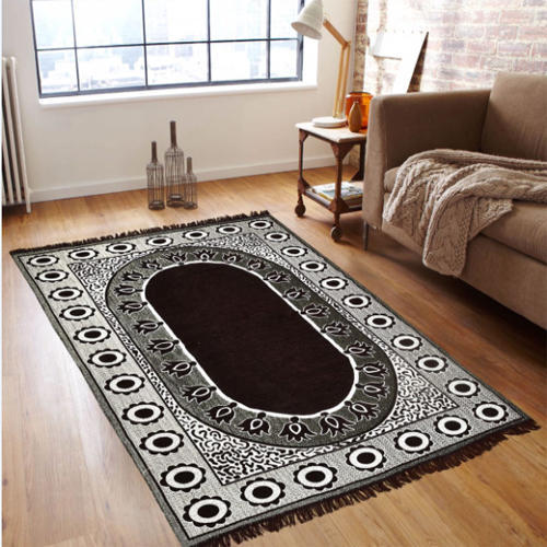 Printed Rectangular Home Decorative Carpet, Packaging Type: Roll