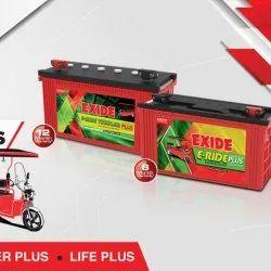 Exide E Rickshaw Battery, Capacity: 100ah