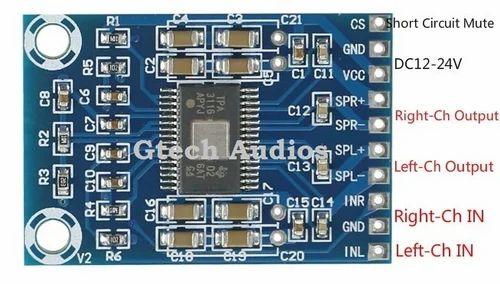 TPA3118 PBTL Mono Digital Amplifier Board 1x60W & Speaker