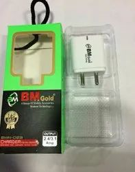 BM Gold 2.8 Double USB Adaptor
