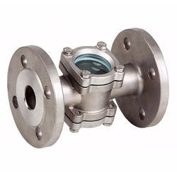 Double Window Sight Glass Valve
