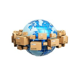 International Parcel Service, Differs Destination Wise, Size: Standarad