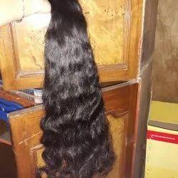 Human hair curly