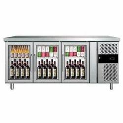 3 door Elanpro Under Counter Refrigerator, Number of Shelves: 2