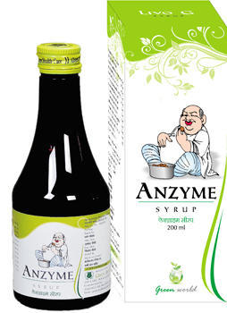 Enzyme Syrup and Gas Tablet & Capsule - Ayurvedic Digestive Syrup