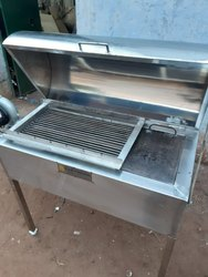 Portable Barbeque Machine with Blower