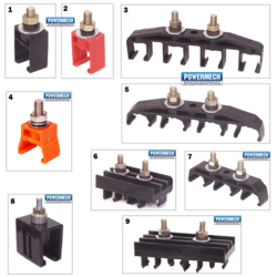 Safe Track DSL Busbar Support Hanger Clamps