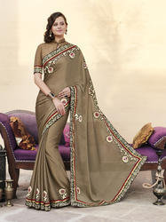 Butta Work Saree