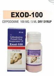 Cefpodoxime 100 mg/ 50 mg Dry Syrup