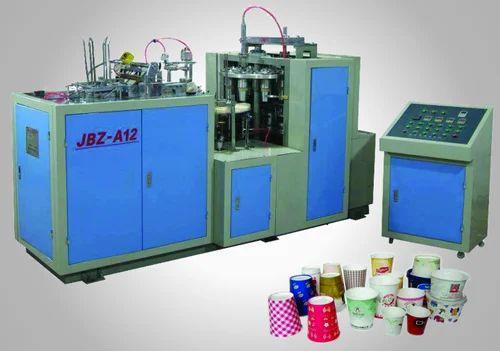 Semi Automatic Paper Cup Making Machine, 500-1000