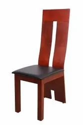 Brown and Black DC 930 Wooden Frame Dining Chair