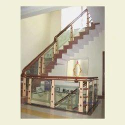 Staircase Glass Railing