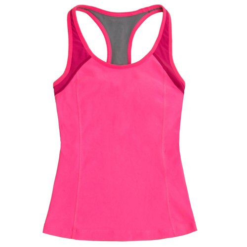 Pink Yoga Girls Tank Tops