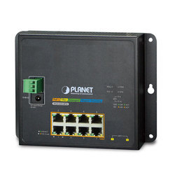 DIN-Rail L2 Ring Managed Gigabit PoE Switch