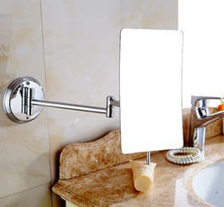 Square Magnifying Bathroom Mirror