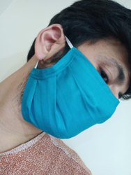 Cotton Face Mask With Elastic