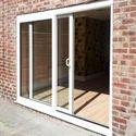 Upvc Glass Sliding Door, For Office, Exterior