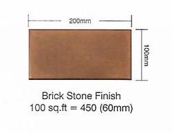 Ceramic Rectangular Floor Tile, 10-30mm