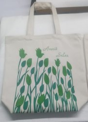 Natural Cotton Tote Bag, Capacity: 15 Kgs, Size: 15x15 Inches