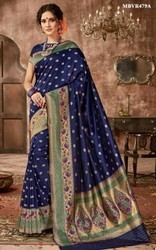 Blue Silk Sarees