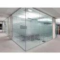 Frameless Toughened Glass, Shape: Rectangular