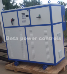 Three Phase 98% At Nominal Load 80 KVA Automatic Voltage Stabilizer, 310 - 480v
