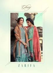 Textile Mall Presents Glossy Zarifa Palazzo Style Pashmina Winter Catalog Collection